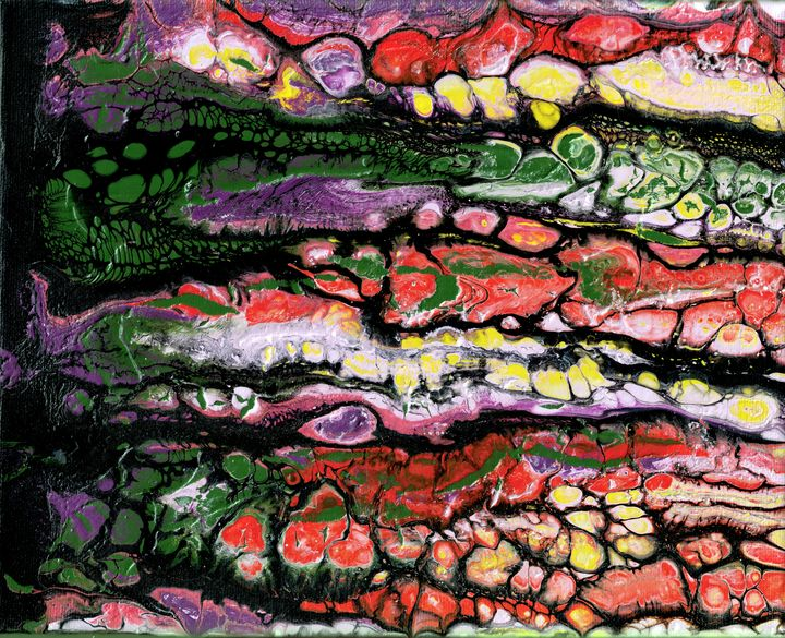 Underneath - Second life fluid art