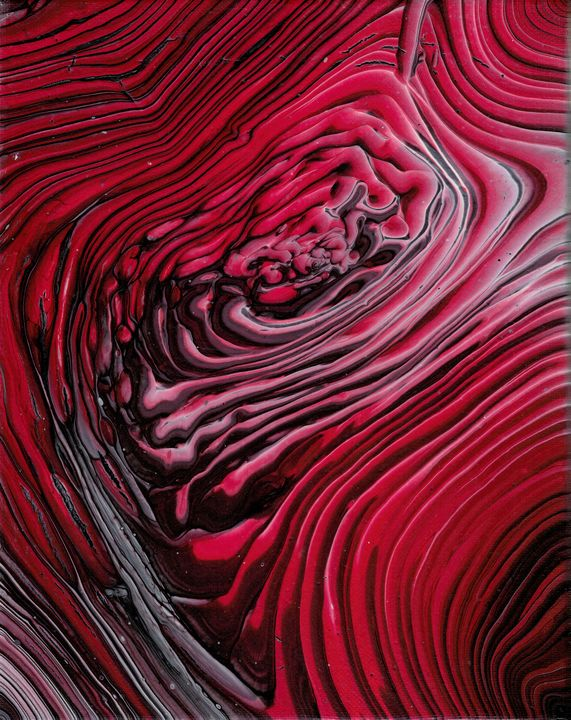 Into the Red - Second life fluid art