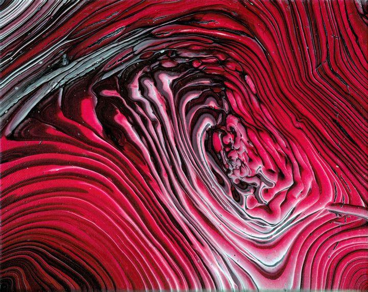 Rose galaxy - Second life fluid art