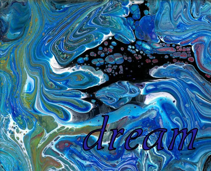 Dream - Second life fluid art