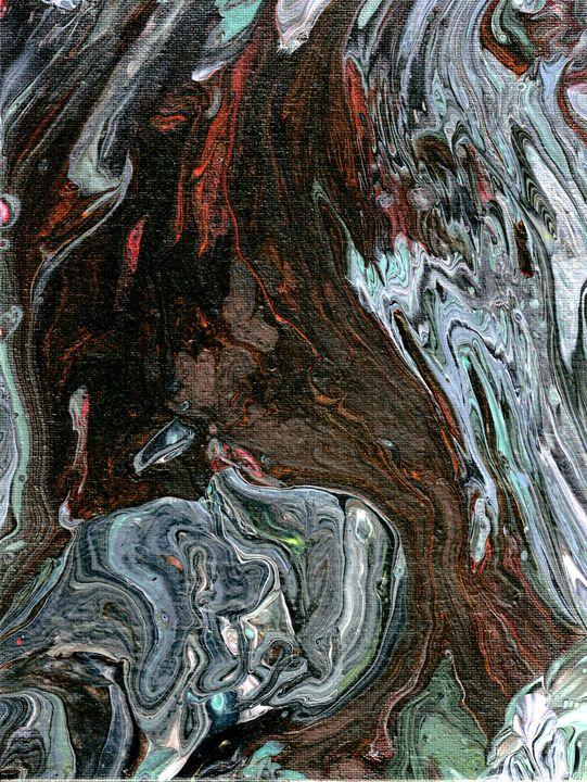 Elemental flow - Second life fluid art