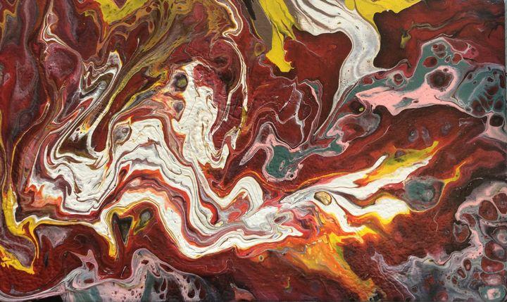 Dragon breath - Second life fluid art