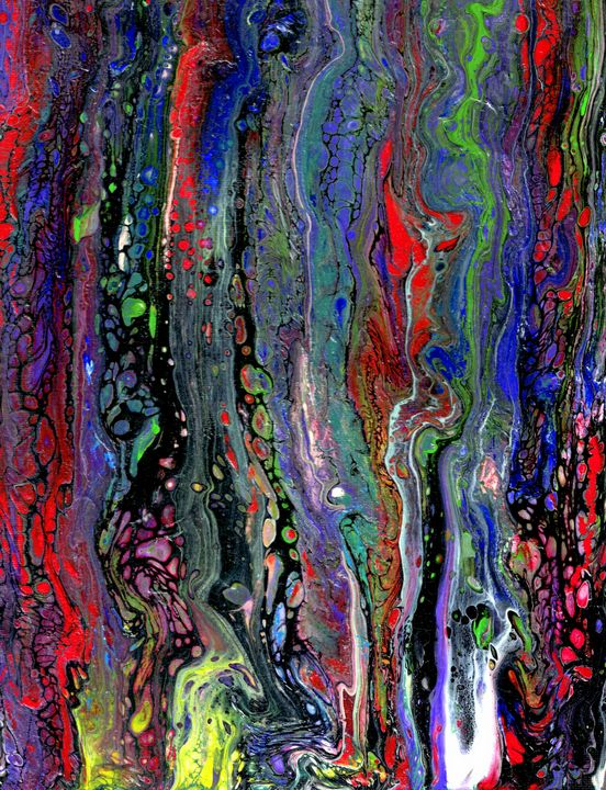 q - Second life fluid art