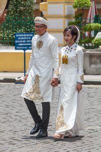 Vietnamese married couple