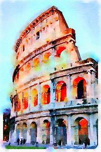 Evening in Rome - Parris