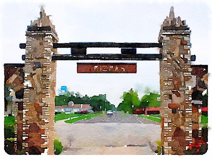 The Mizpah Gate - Parris
