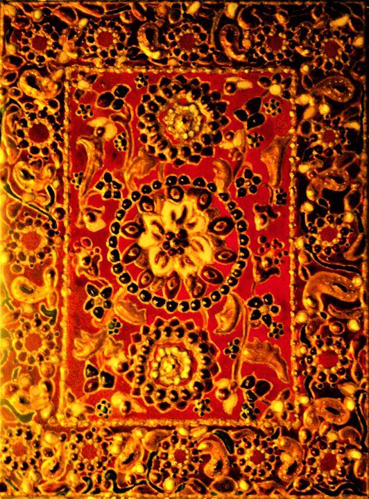 original painting Indian 6x8 - indianArtOnCanvas
