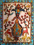 cloisonne style painting