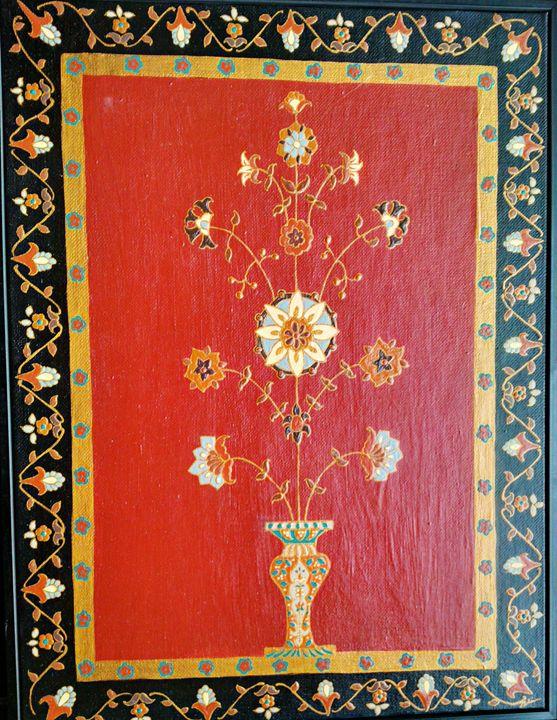 Original painting acrylic on canvas - indianArtOnCanvas