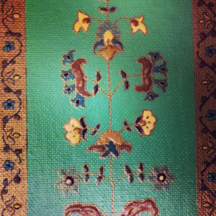 original painting 4x6 - indianArtOnCanvas