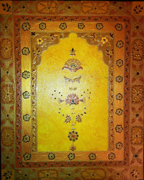 orginal painiting 8x10 - indianArtOnCanvas