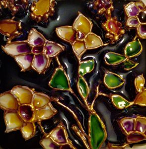 Indian floral motif