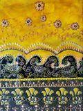 original indian art 6x8 canvas