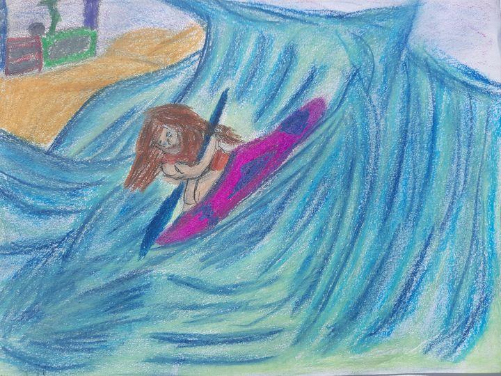 Weathering The Storm - Renee Arbia Art