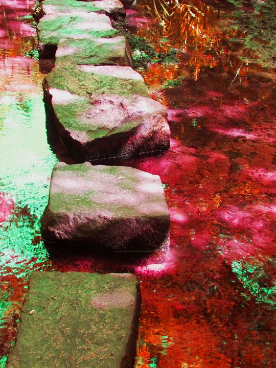 Stepping stones - Helen A. Lisher