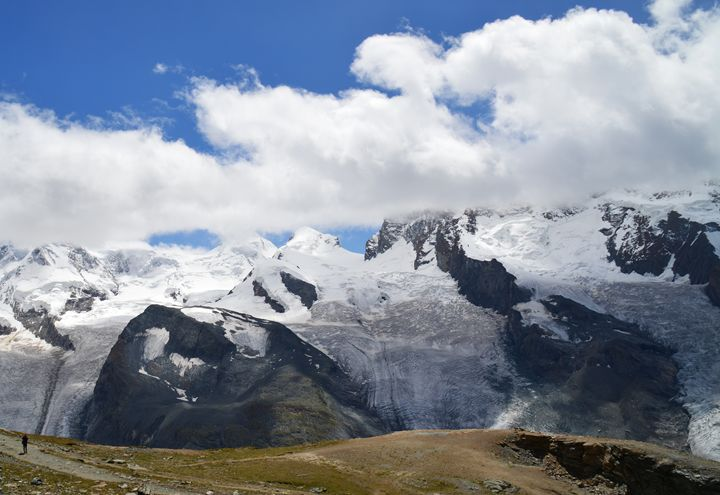 Glaciers in the Alps - Helen A. Lisher
