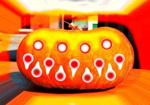 Scary pumpkin - Helen A. Lisher
