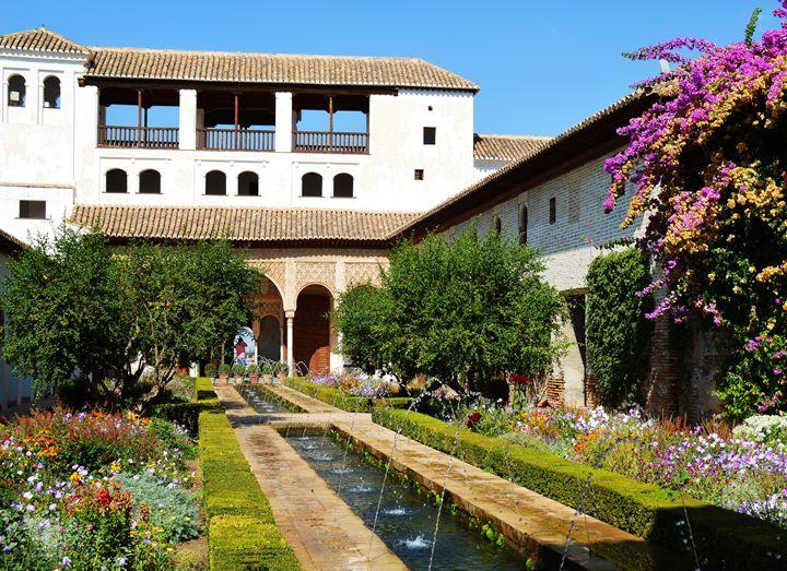 Alhambra garden - Helen A. Lisher