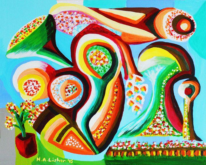 Summer dream - Helen A. Lisher
