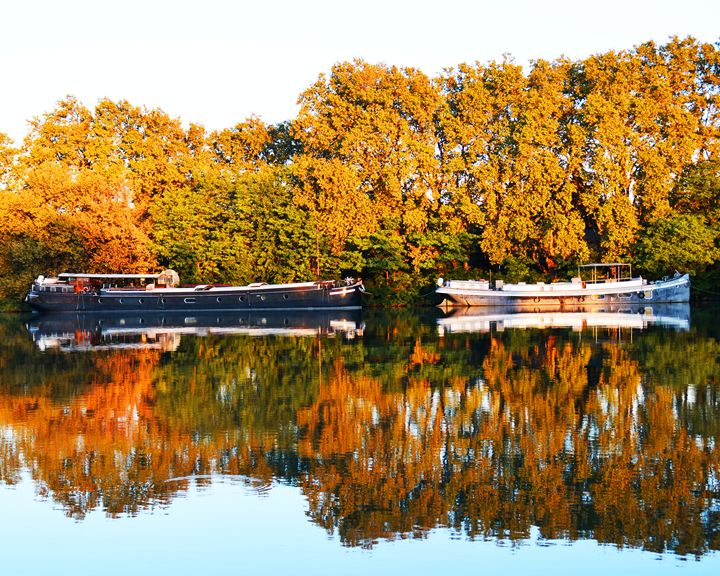 Reflections on the River Rhone - Helen A. Lisher