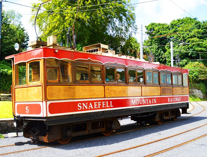Snaefell mountain train - Helen A. Lisher