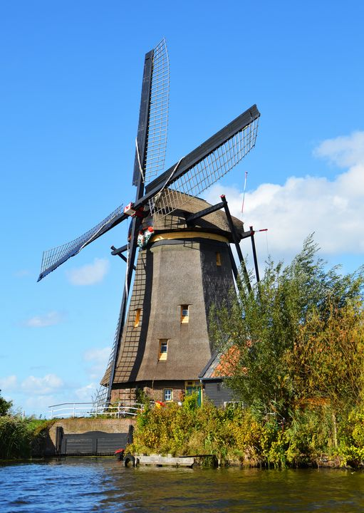 Old windmill - Helen A. Lisher