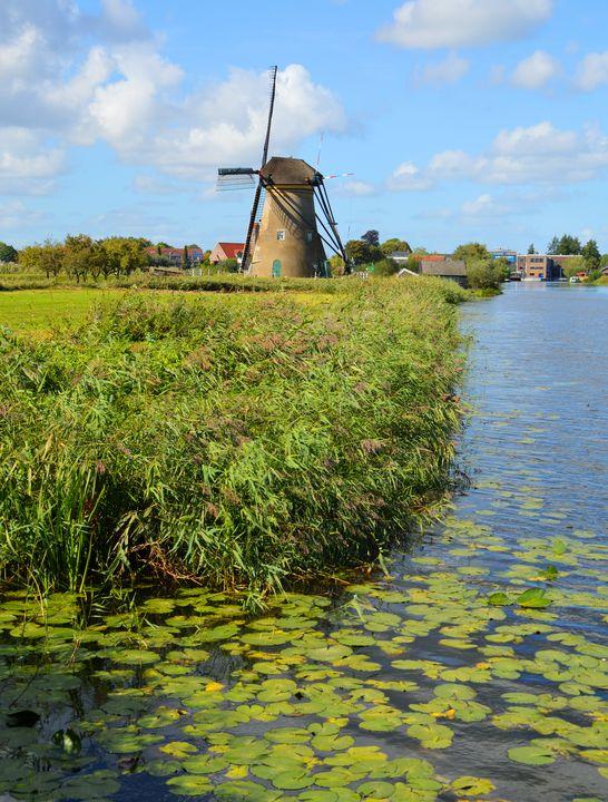 Dutch landscape - Helen A. Lisher