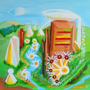 Second future landscape - Helen A. Lisher