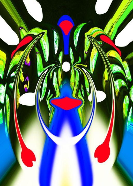 Alien plant life form - Helen A. Lisher