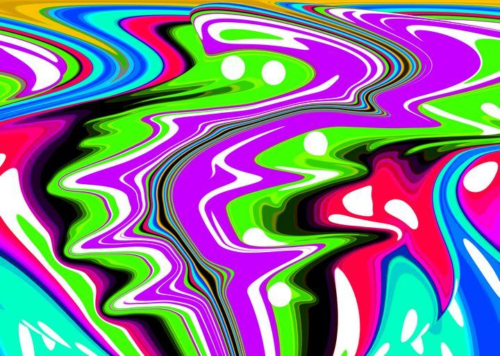 Purple river - Helen A. Lisher