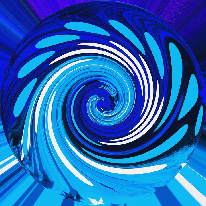 Blue mix - Helen A. Lisher