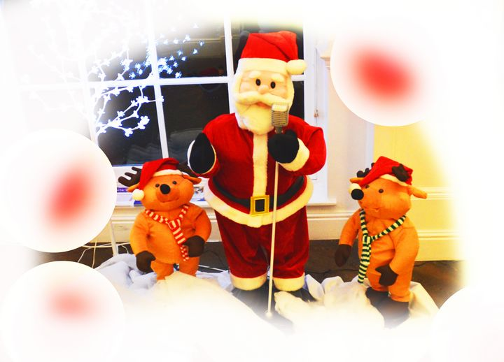 Santa and bears - Helen A. Lisher