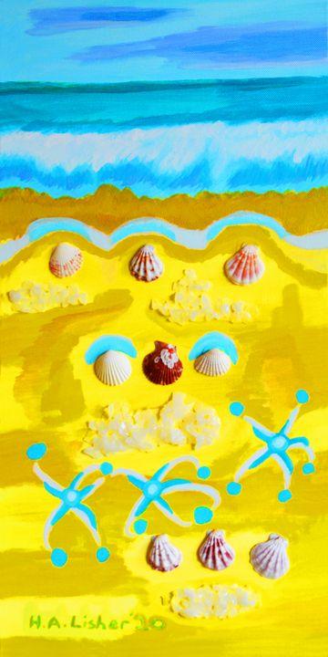 Diamond beach - Helen A. Lisher