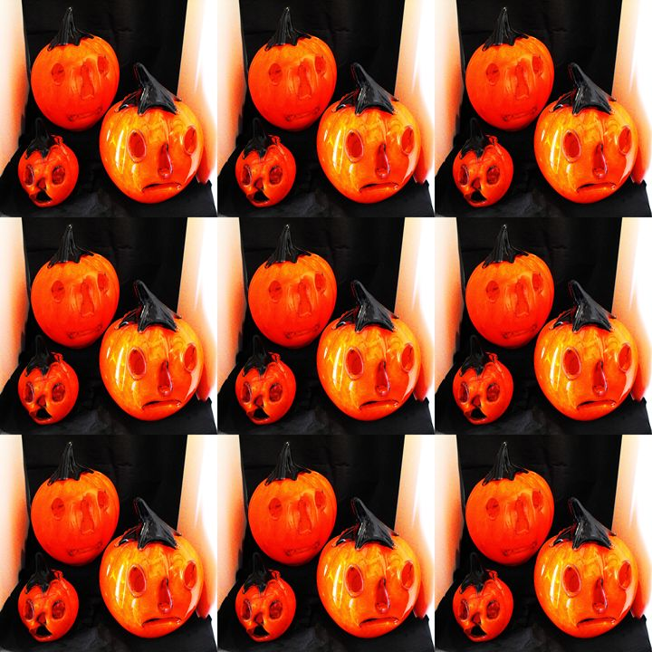 Scary pumpkins - Helen A. Lisher