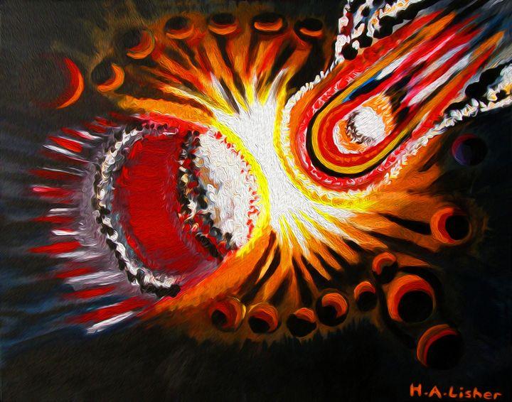 Cosmic moment - Helen A. Lisher