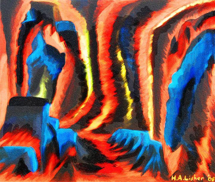 Inside a volcano - Helen A. Lisher