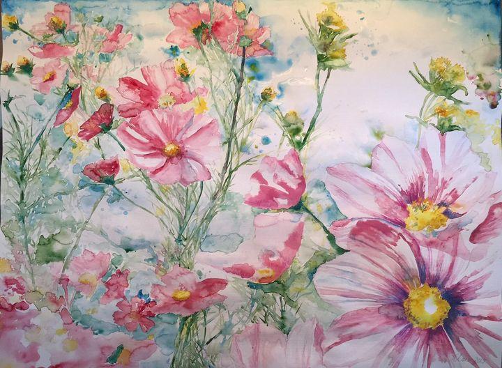 Pink cosmos - EMPOWER ART