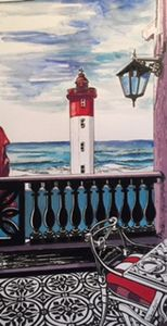 Lighthouse at Oyster Box