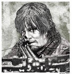 Daryl - Stippling Portrait