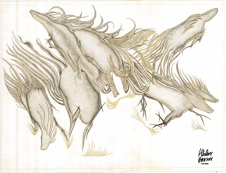 Seven horses - De Outrora