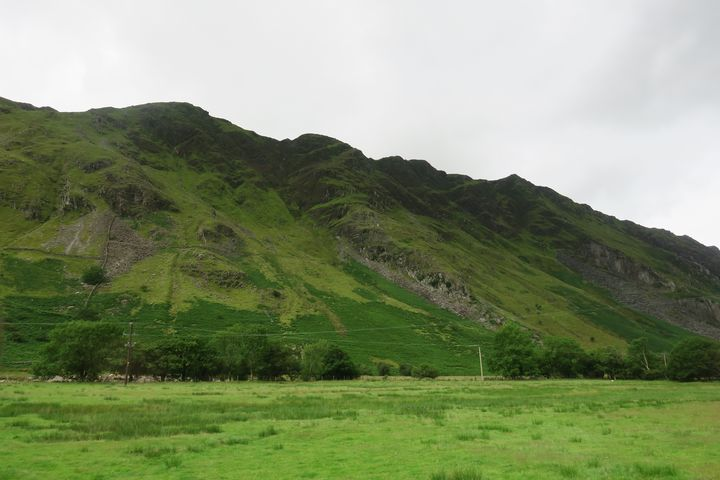 Green mountains of Glencoe Scotland - Creative Artistry by Janice Solomon