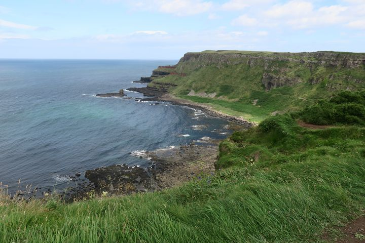 Giant's Causeway in Northern Ireland - Creative Artistry by Janice Solomon