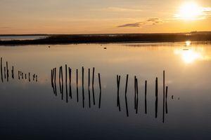 Sunset at Blackwater Refuge