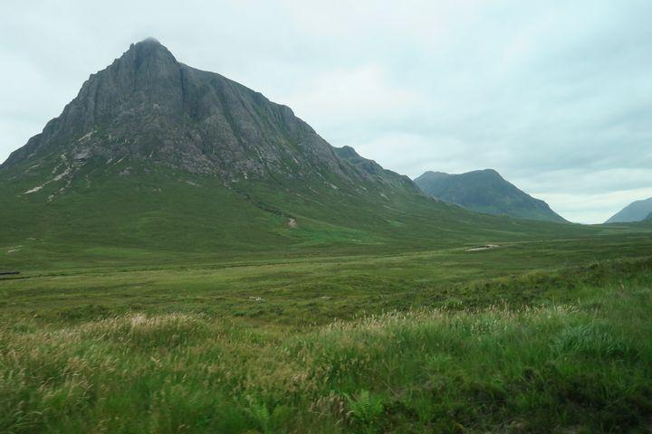 Mountain peaks of Glencoe - Creative Artistry by Janice Solomon