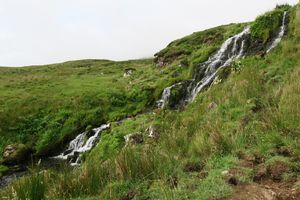 Bride's Veil Falls in Isle of Skye