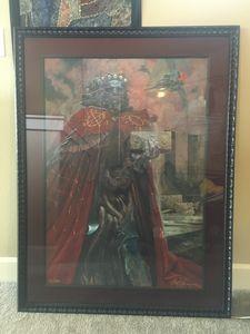 Wayne Barlowe Painting certificate