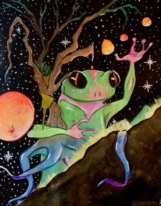 Ichabod's Cosmic Journey