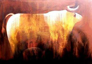 Bull's semi-abstract