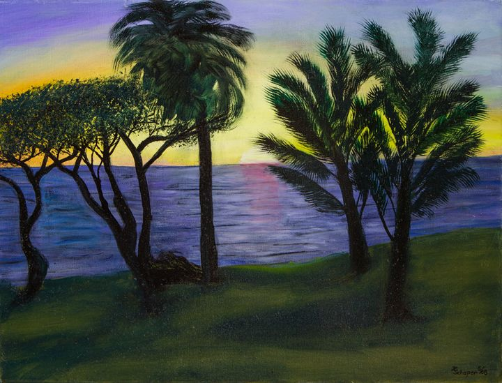 Ocean at Maui - Schaper's Gallery
