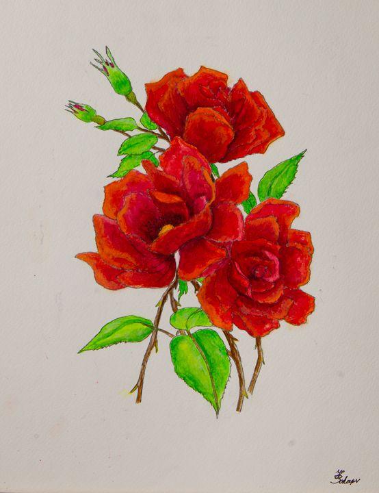 Three Roses - Schaper's Gallery